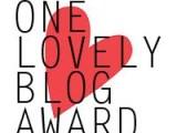One Lovely Blog Award2013